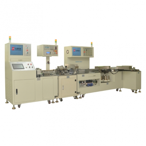 Safety capacitor five-in-one combination machine