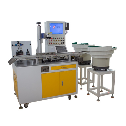 Power shell automatic laser marking machine