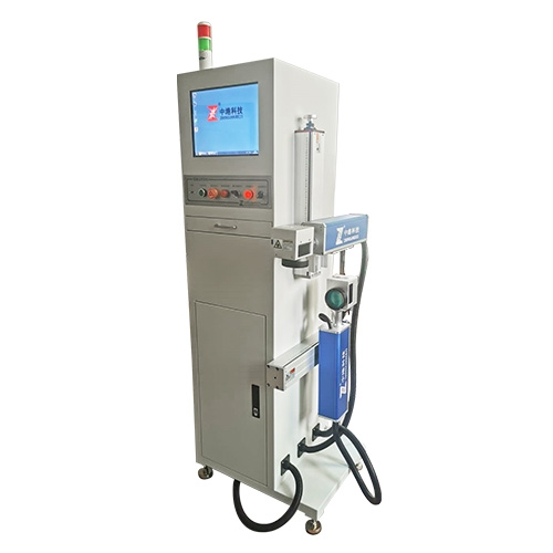 Supporting sorting double laser marking and arranging machine